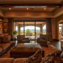 Colorado Homes Living Room